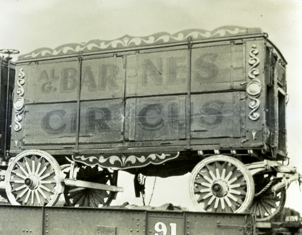Cage Wagon Side Shot on Flat Posted 6 121 1024x796 Al G. Barnes Circus