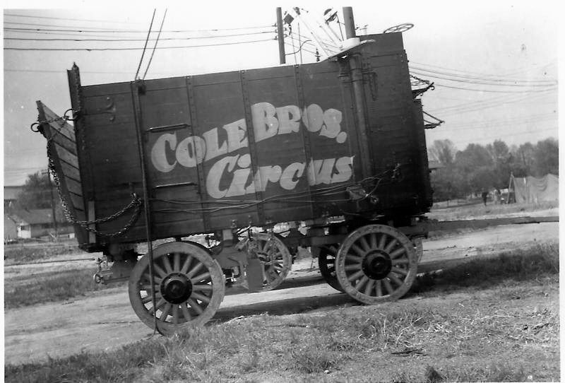 Cole Bros. 1941 Cargo Wagon # 88