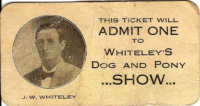 Ticket1 The Dog & Pony Show