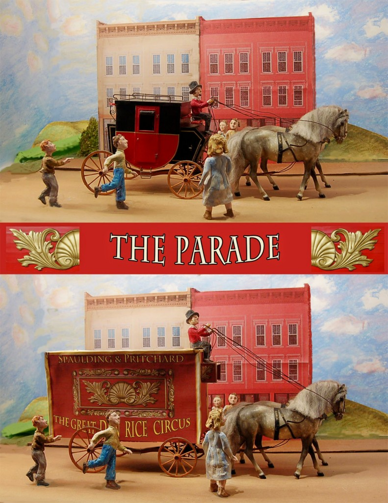 parade scene fin web 791x1024 The Ringling Bros From Baraboo