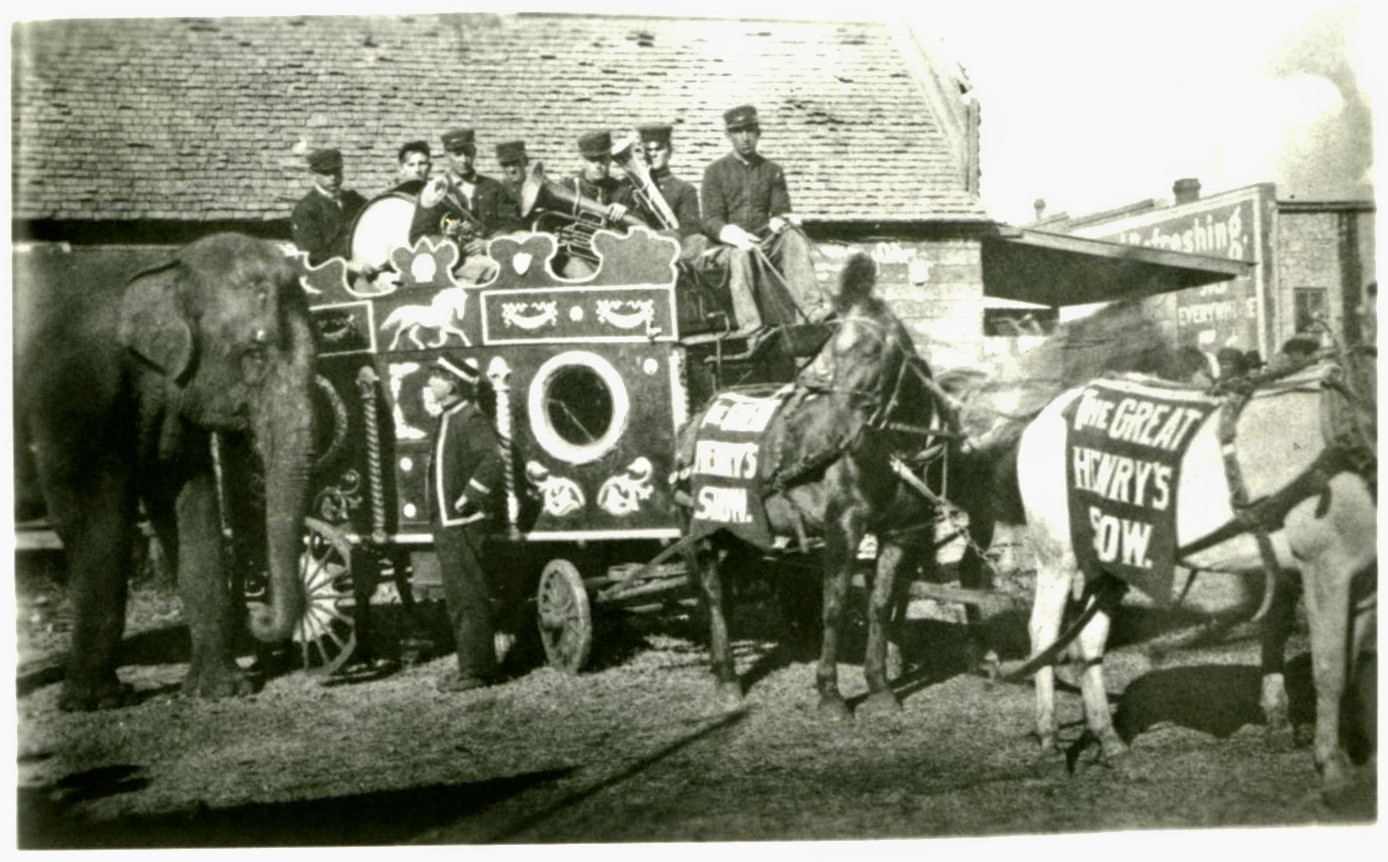 Henry Bros Band Wagon early 1900's