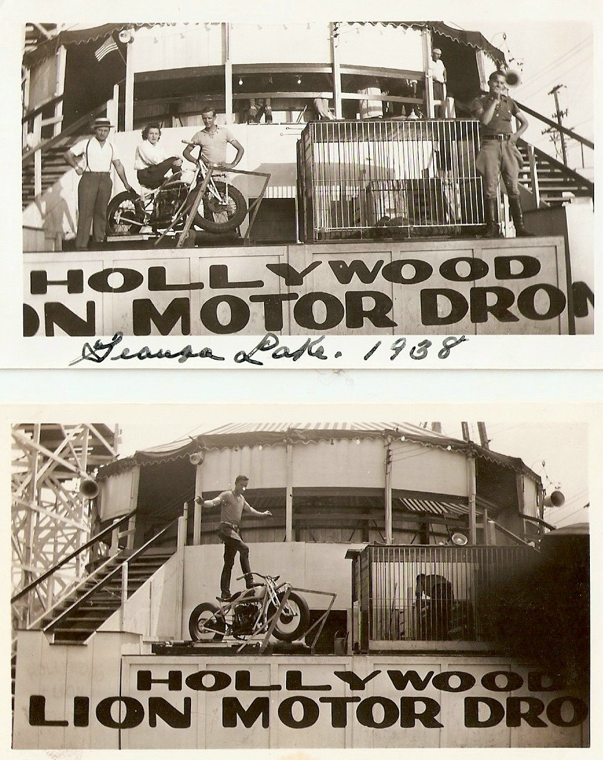 1938 Hollywood Lion Motor Drome Hollywood Lion Motor Drome
