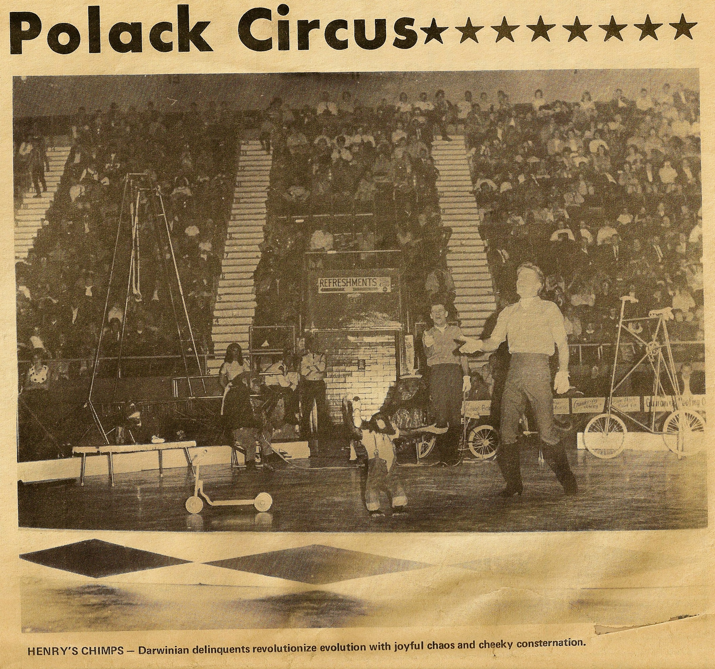 Henrys Chimps 1968 Polacks