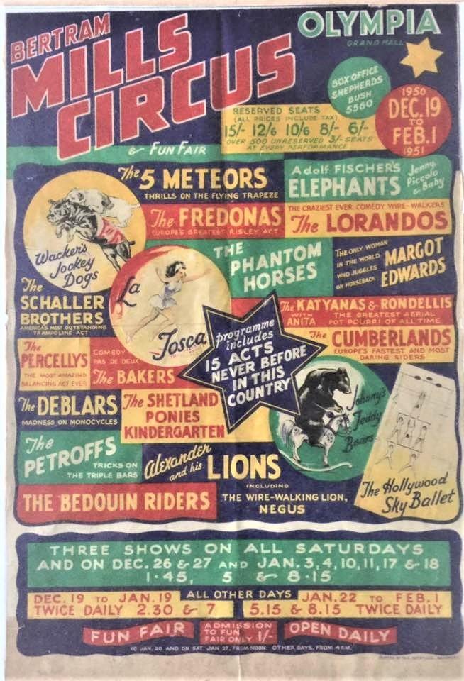 Bertram Mills Circus 1951