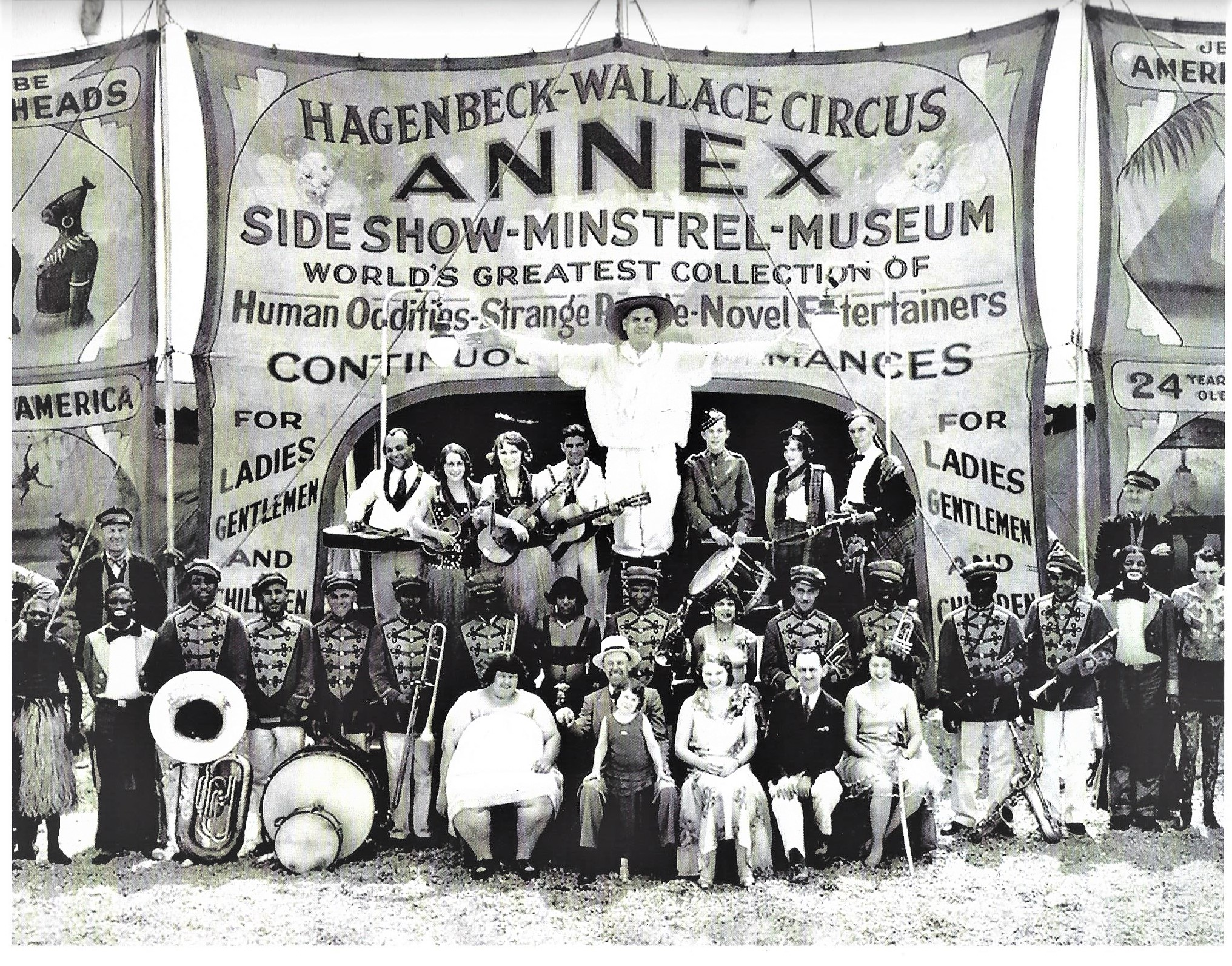 Hagenbeck & Wallace Sideshow